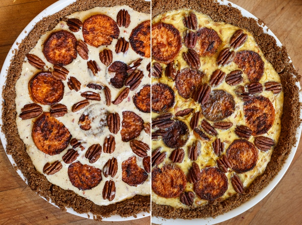 Sweet Potato and Gruyère Pie with Pecans-2-6