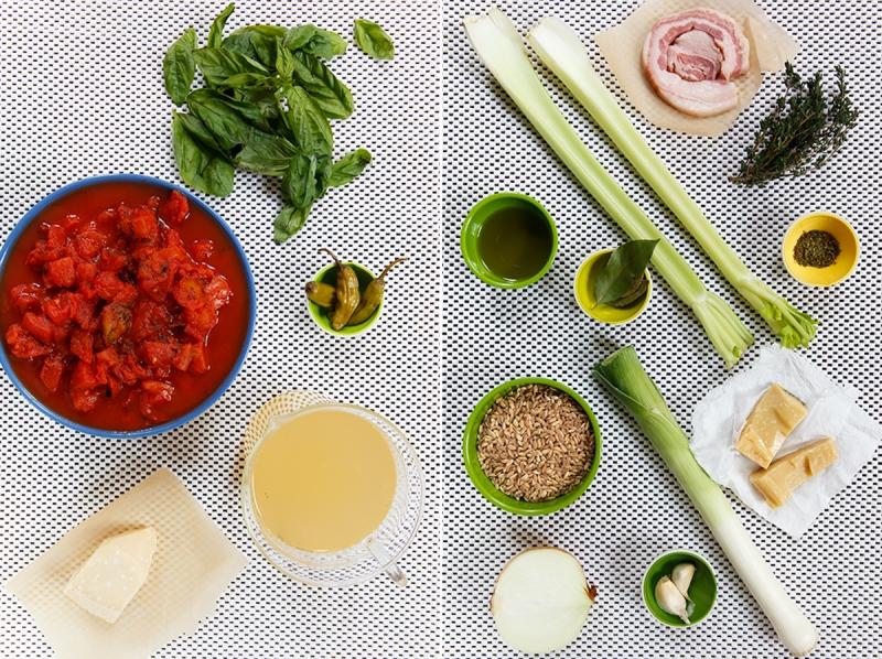 Tomato-Farro Soup 2-1-2