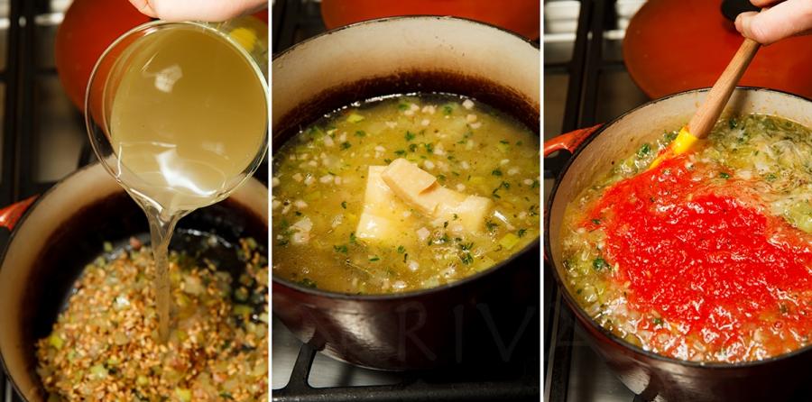 Tomato-Farro Soup 3-2-2
