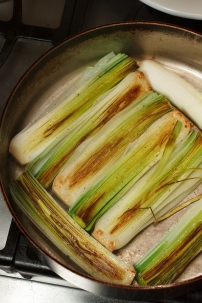 Braised Leeks with Meyer Lemon, Pancetta and Parmigiano Reggiano -22