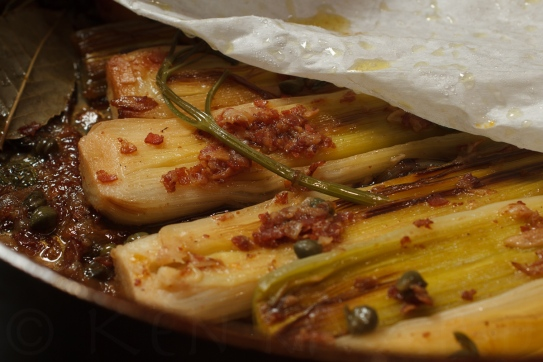 Braised Leeks with Meyer Lemon, Pancetta and Parmigiano Reggiano -25