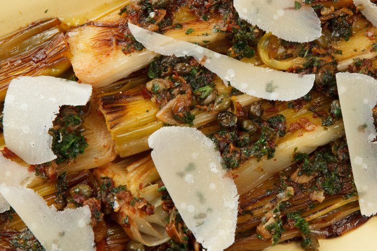 Braised Leeks With Lemon And Parsley Recipes — Dishmaps