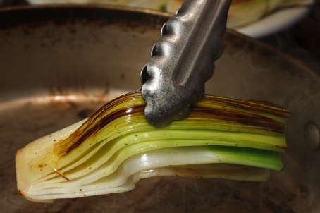 Braised Leeks with Meyer Lemon, Pancetta and Parmigiano Reggiano -31