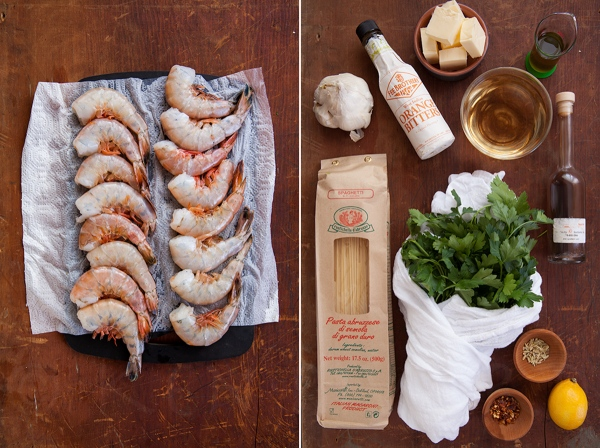 Shrimp Scampi with Orange Bitters 2-1-2