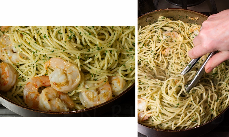 Shrimp Scampi with Orange Bitters 2-3-2