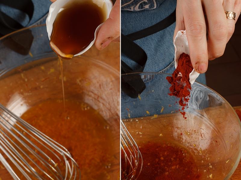 Spanish Mackerel, Saffron and Honey with Fennel - Blood Orange Salad-23