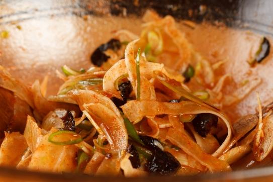 Spanish Mackerel, Saffron and Honey with Fennel - Blood Orange Salad-37