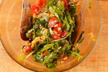 Spanish Mackerel, Saffron and Honey with Fennel - Blood Orange Salad-41