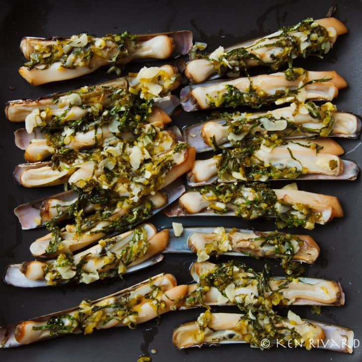 Razor Clams with Preserved Lime-1722