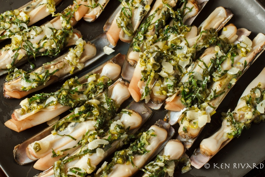 Razor Clams with Preserved Lime-1728