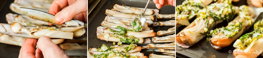 Razor Clams with Preserved Limes 3-3-2