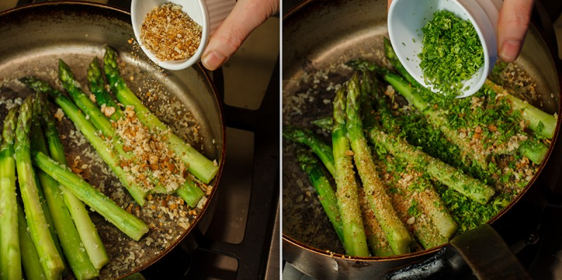 Asparagus with Horseradish Cream 2-2