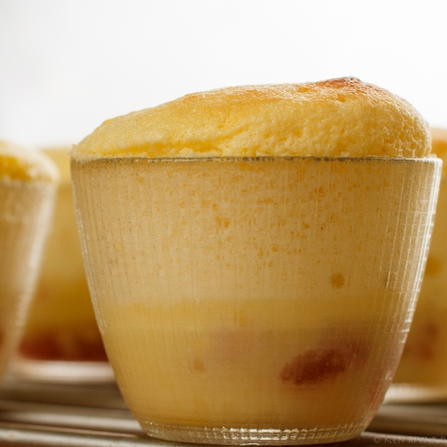 Lemon-Rhubarb Custard Soufflé-3178