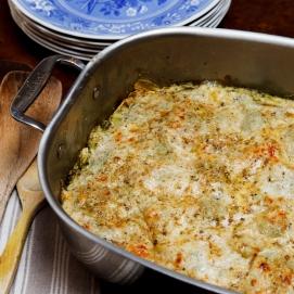 Pesto-Prosciutto Lasagna-2088