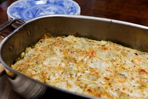 Pesto-Prosciutto Lasagna-2089