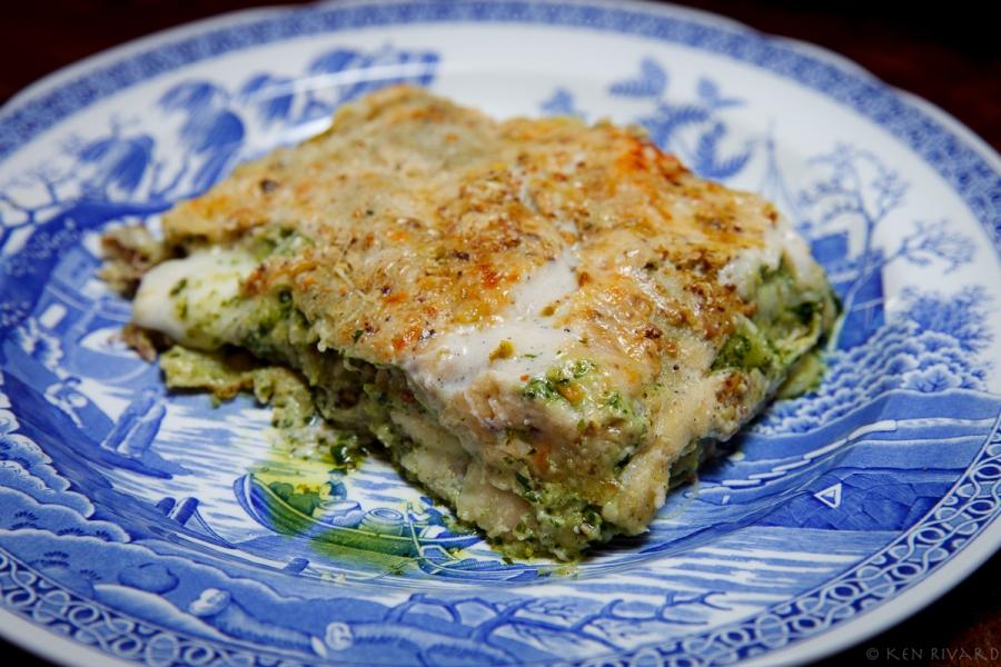 Pesto-Prosciutto Lasagna-2091