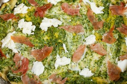 Pesto-Prosciutto Lasagna-3930