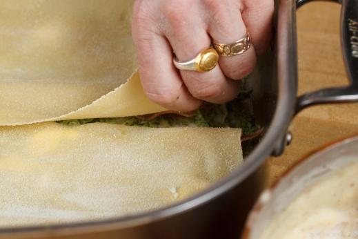 Pesto-Prosciutto Lasagna-3956