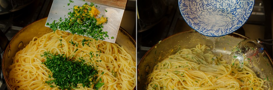 Spaghetti with Bottarga and Preserved Lemon 2-1-2