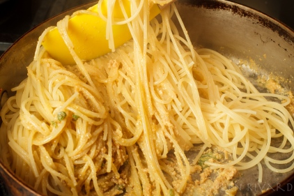 Spaghetti with Bottarga and Preserved Lemon-2626