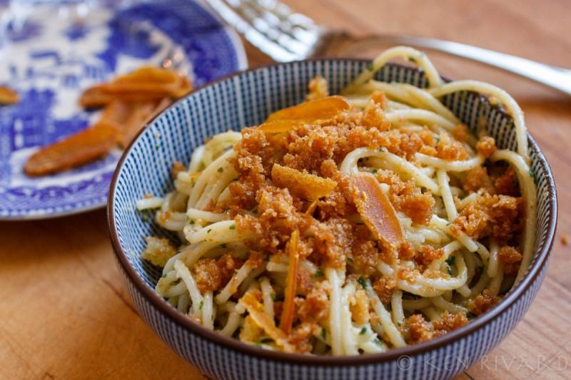 Spaghetti with Bottarga and Preserved Lemon-2703