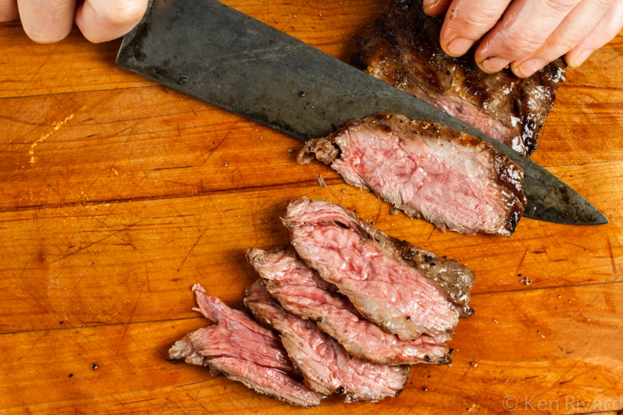 Skirt Steak with Green Romesco-7408
