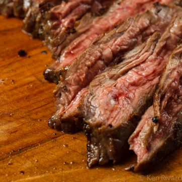 Skirt Steak with Green Romesco-7413