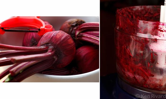 Beet-cured gravlax 2-1-2