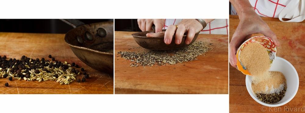 Beet-cured gravlax 3-4-2