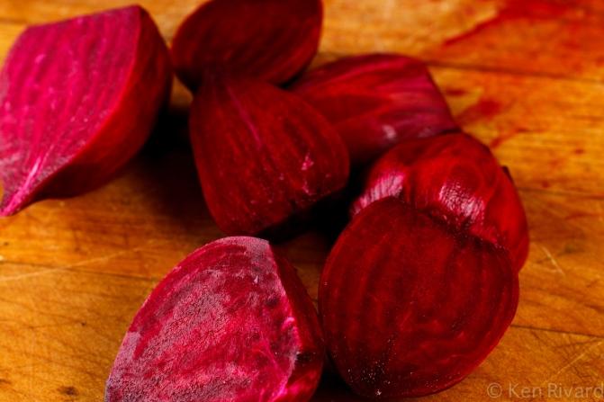 Beet-cured gravlax-7815