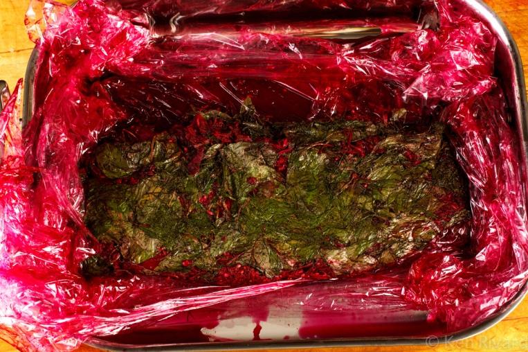 Beet-cured gravlax-7824