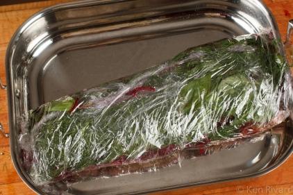 Beet-cured gravlax-7908