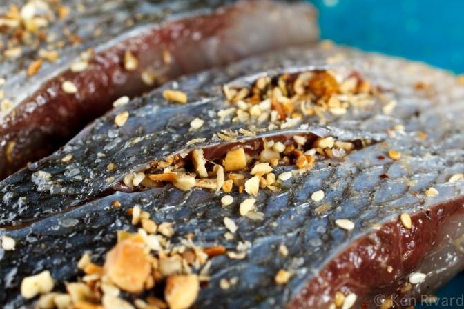 Bluefish with Dukkah, Tomatoes and Garlic Yogurt-19
