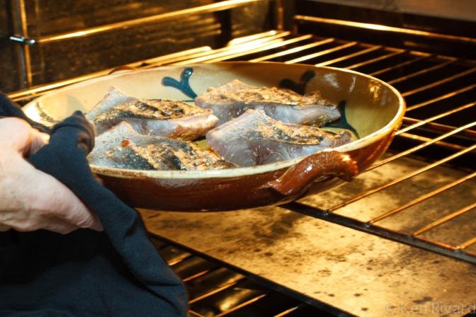 Bluefish with Dukkah, Tomatoes and Garlic Yogurt-21