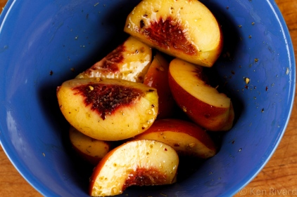 Grilled Duck Breast with Peaches-8401