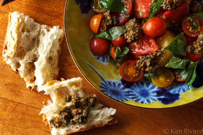 Tomato Salad with Tuna Tapenade-8647