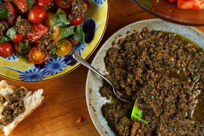 Tomato Salad with Tuna Tapenade-8649