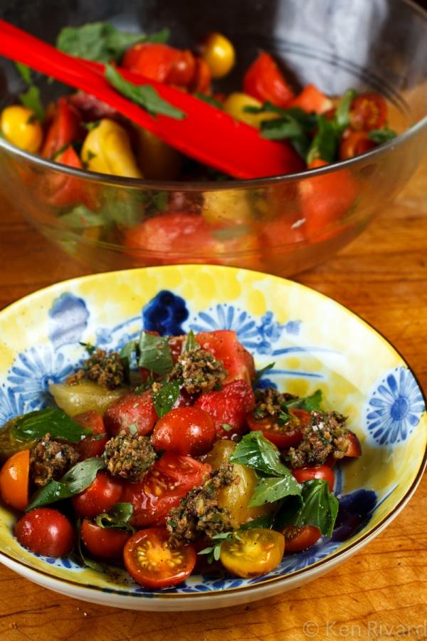 Tomato Salad with Tuna Tapenade-8651