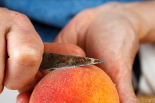 Peach prosciuto antipasto-9826
