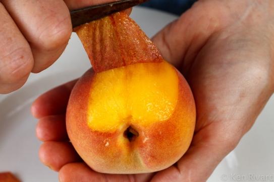 Peach prosciuto antipasto-9829