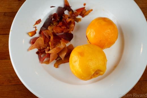 Peach prosciuto antipasto-9846