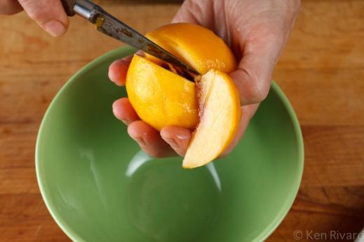 Peach prosciuto antipasto-9847