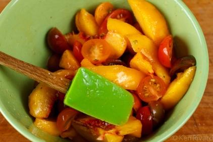 Peach prosciuto antipasto-9882