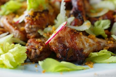 Chicken Wings with Celery and Bottarga-2444