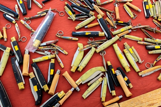 Knives, and the craft of making them, is much valued in Sardinia.
