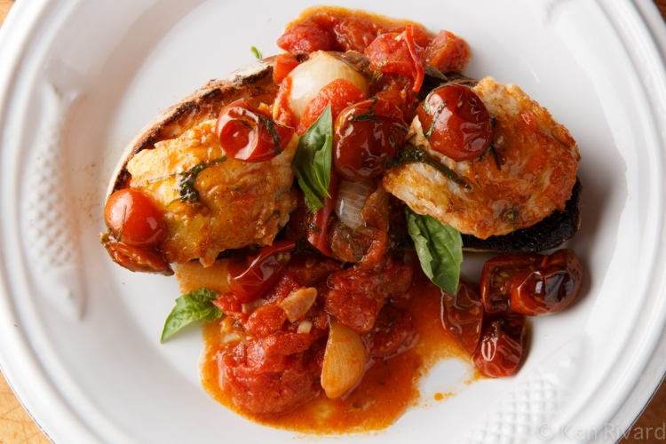 Pesce all' Acqua - Monkfish in Crazy Water-3799
