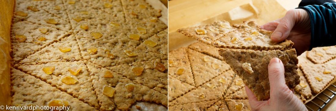 Pecan Ginger Tiles 2-3-2