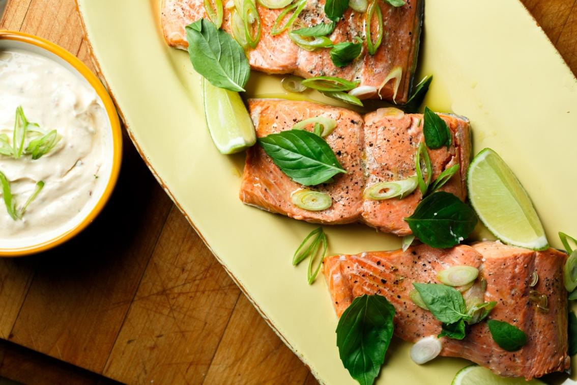 Poached Salmon-1913