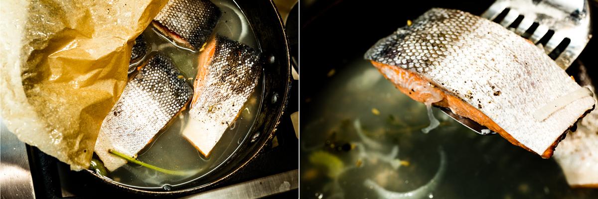 Poached Salmon 2-2-2