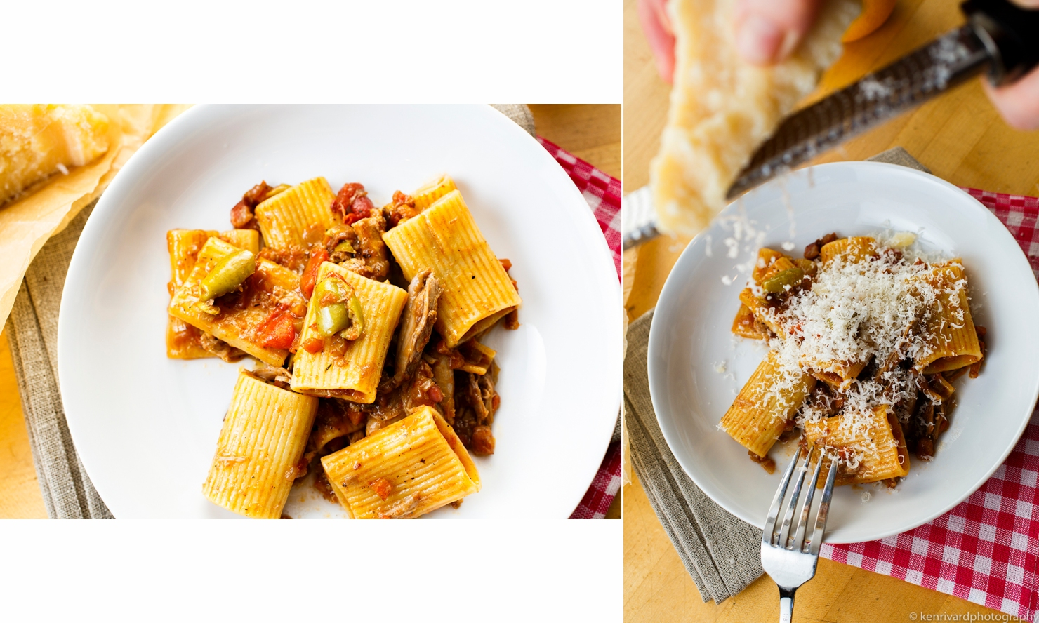 Duck Ragu with Pancetta and Green Olives 2-1-2
